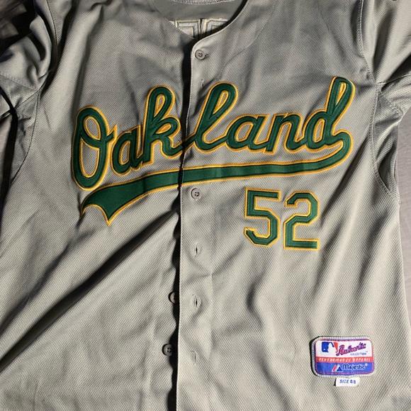new concept 330ad e2525 Oakland A's Cespedes jersey